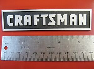 Sears Craftsman Small Tool Box Badge Chest Cabinet Emblem Decal Sticker Logo