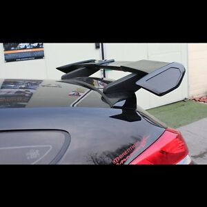 Rear Roof Wing Spoiler Unpainted Parts For Hyundai Veloster Turbo 2012 2016