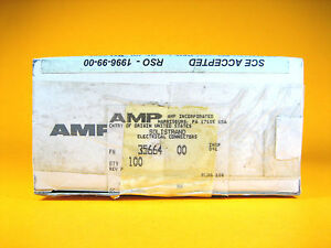 Amp 35664 Solistrand Electrical Connectors 8 Awg lot Of 100