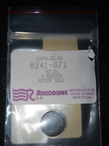 Rheodyne Tefzel 2 groove Rotor Seal For 7010 83 Sample Injector 0241 071