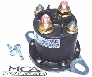 Solenoid Western Fisher Snow Plow Round Continues Duty Hyd01633 56131 56134