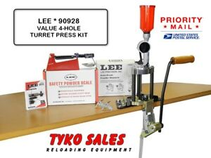LEE 90928 *  LEE PRECISION 4-HOLE VALUE TURRET PRESS KIT * 90928