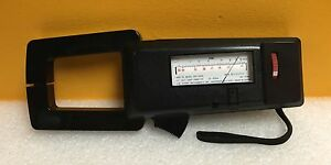 Aws Snap 10 sperry Spr 1030 50 To 400 Hz Clamp On Volt ohm ammeter C 23 Case