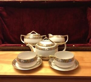 Nippon Tea Set Hand Painted