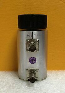 Texscan Trilithic Ra 71 Dc To 1 0 Ghz 75 Ohm Bnc m Rotary Step Attenuator