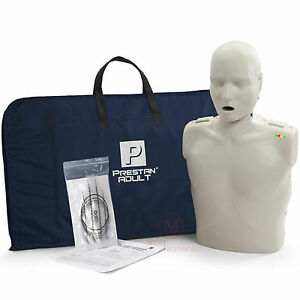 Prestan Adult Cpr Manikin With Monitor Light Tone Mannequin Item Pp am 100m