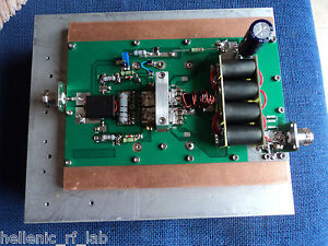 0 4 To 7 5 Mhz 1 35 Kw Pep Hf Am Modulation Ldmos fet Linear Amplifier