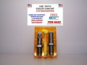 90713 * LEE COLLET 2-DIE SET * 270 WINCHESTER