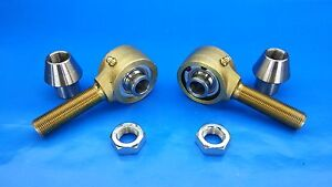 3 4 X 5 8 Bore Panhard Kit chromoly Rod End Heim Joints 1 1 4 X 095 Flex