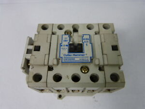 Cutler Hammer Cn15dn5 Contactor 30amp 3pole 110 120v Coil Used