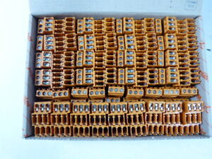 Weidmuller Lm3r Terminal Block New In Box Of 50