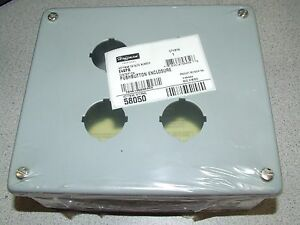 New Genuine Hoffman Pushbutton Enclosure E 4spb 58050