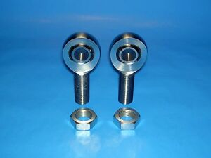 3 4 16 X 5 8 Bore Chromoly Panhard Bar Rod End Kit W Jam Nuts Heim Joints
