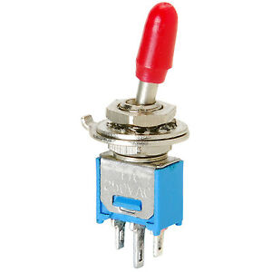 Spdt Sub mini Toggle Switch With Cover