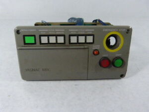 Yaskawa Jznc mpb02e Push Button Panel Without Pushbutton Used