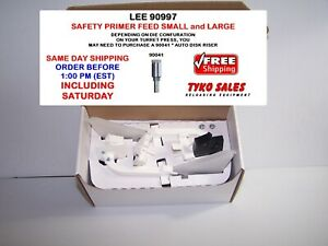90997 * LEE SAFETY PRIME SMALL & LARGE PRIMER FEEDER for 2006 and LATER  PRESSES