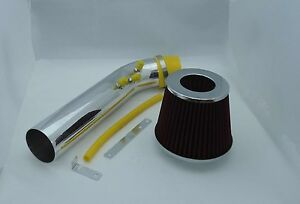 1999 2000 Honda Civic Cold Air Intake With Filter 3 Chrome Piping