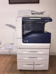 Xerox Workcentre 7845 Color Copier Printer Scanner Mfp Laser 7830 7835 7855