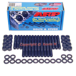 New 134 5601 Arp Main Stud Set Sb Chevy 4 Bolt Blocks 400 350 Large Journal