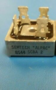 Scba2 Semtech Bridge Rectifier 200v 6a 4 pin Case G 29