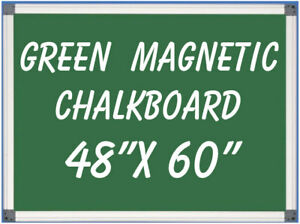 Magnetic Green Chalkboard Menu Sign Board 48 X 60