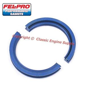 New Fel Pro Performance Silicone Rear Main Seal Sb Chevy 400 350 327 307 305 283