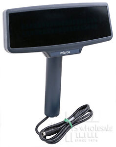 Micros Pcws Customer Display W Post Cable Mounting Kit 700827 005