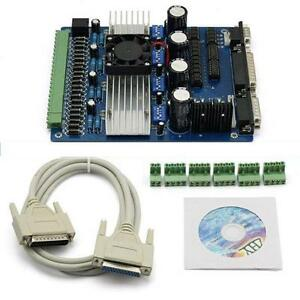 Mach3 Cnc 4 Axis Stepper Motor Driver Controller Board Tb6560 For Router Kit
