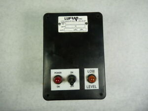 Lufran 2pll pb 1 Level Meter 120v 5a Used