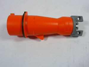 Hubbell 420p12w Plug Pin And Sleeve 125 250vac Used