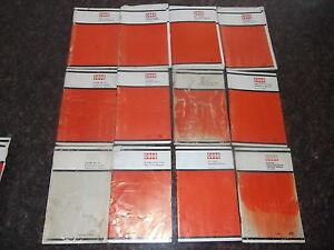 Lot Of 43 Case Loader Plow Cultivator Operation Maintenance Books Manuals