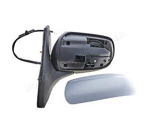 Mazda 323s 323f 1998 2000 Electric Side Mirror Adjustable Heated Primed Left
