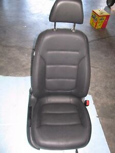 2011 2014 Volkswagen Vw Jetta Front Right Side Seat And Headrest Black