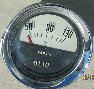 Ferrari 250 Gt Lusso Swb Oil Temperature Gauge