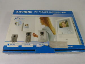 Aiphone Jfs 1ad Hands free Color Video Intercom Set New