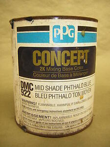 Ppg Dmc922 Gal Mid Shade Phthalo Blue Mixing Toner Concept Mixing Base Color