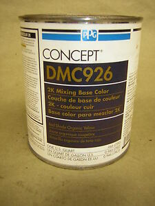 Ppg Dmc926 Qt Red Shade Organic Yellow Mixing Toner Concept Mixing Base Color