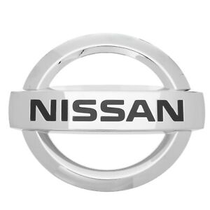 2013 2017 Nissan Versa Note Front Chrome Grille Emblem Oem New