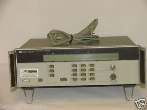 Hp Hewlett Packard Microwave Frequency Counter 5351a