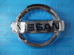 Nissan Genuine Maxima Front Grille Emblem 62890 9n00a