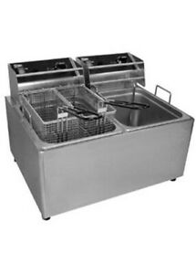 Grindmaster Cecilware El2x25 Electric Countertop Fryer authorized Seller