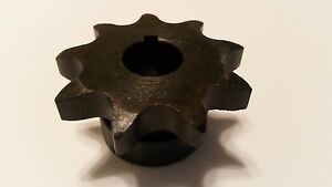 40b09h 1 2 Type B Finish Bore Sprocket For 40 Roller Chain 9 Tooth 40bs09h