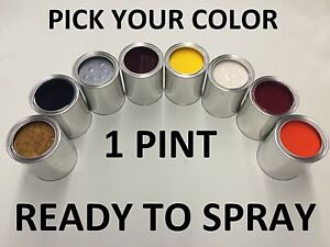 Pick Your Color 1 Pint Ready To Spray Paint For Toyota Car Truck Suv