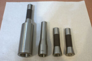 Bridgeport R8 Adapter To Morse Taper 1 2 3 4 Without Tang