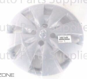 Genuine Toyota Yaris 2009 2010 2011 2012 Wheel Cover Hub Cap Oem 42602 52400