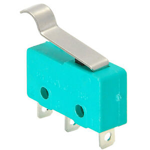 Spdt Miniature Snap action Micro Switch With Offset Lever