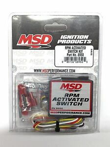 Msd 8950 Rpm Activated Switch Kit Rpm Trigger Device