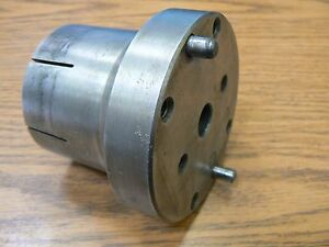 Collet Nut Chuck Closer Adapter Back Plate 2 3 16 10 Thr Hardinge Haas Yuasa b