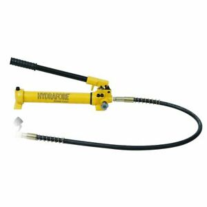 Hydraulic Hand Pump 2 Speed Power Pack Hose Coupler 10000 Psi 21 In3 B 700c