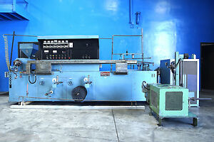 Davis Sterling mini Wire Coating Extrusion Line 1 1 4 Plastic Extruder